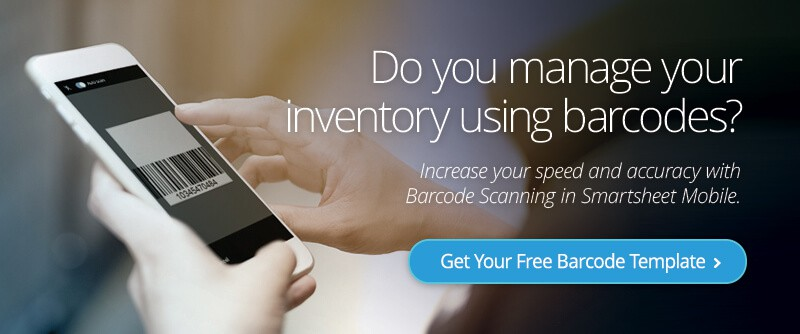 Managing inventory with barcodes