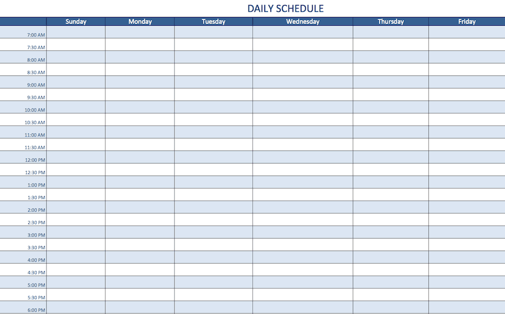 2 dailyscheduletemplateexcel enpng a daily schedule template