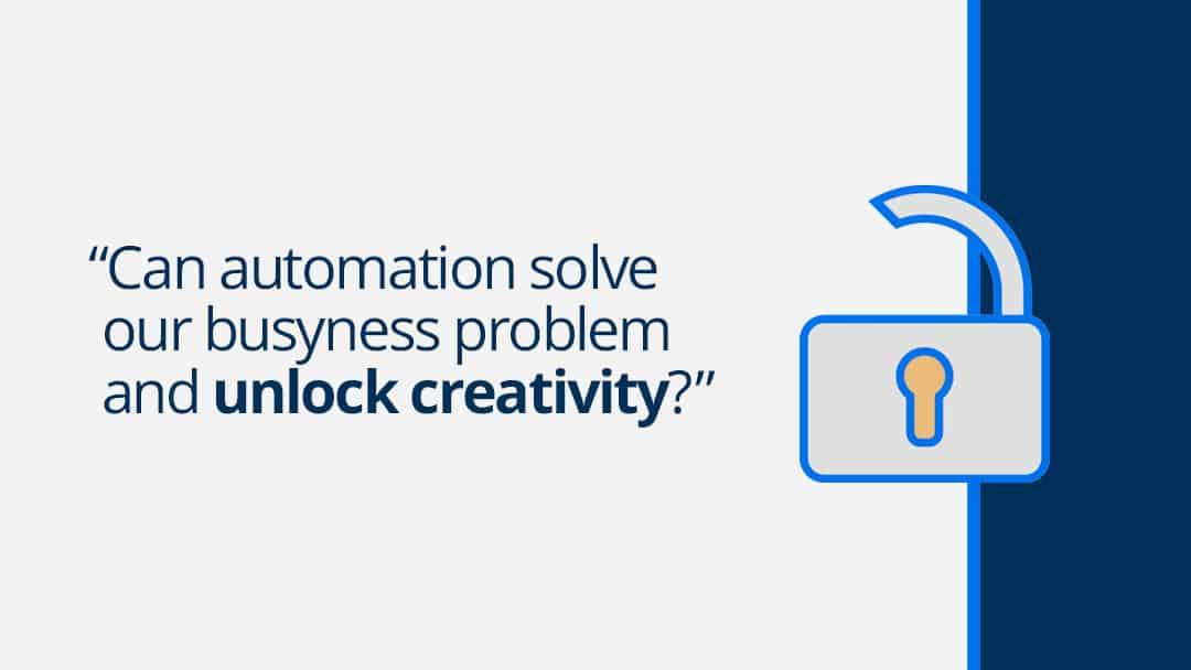 Can automation unlock creativity?