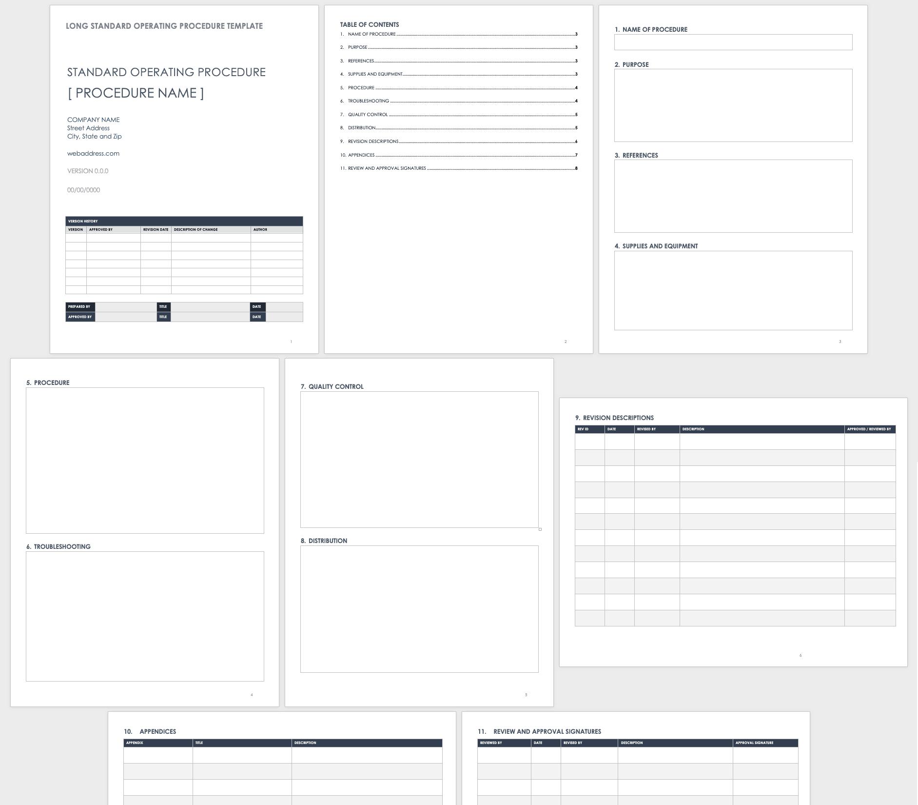 How to Write Standard Operating Procedures   Smartsheet