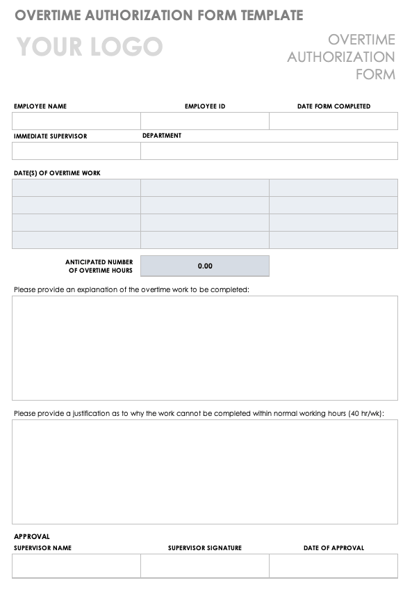 Sample Letter To Boss For Approval Of Purchase from www.smartsheet.com
