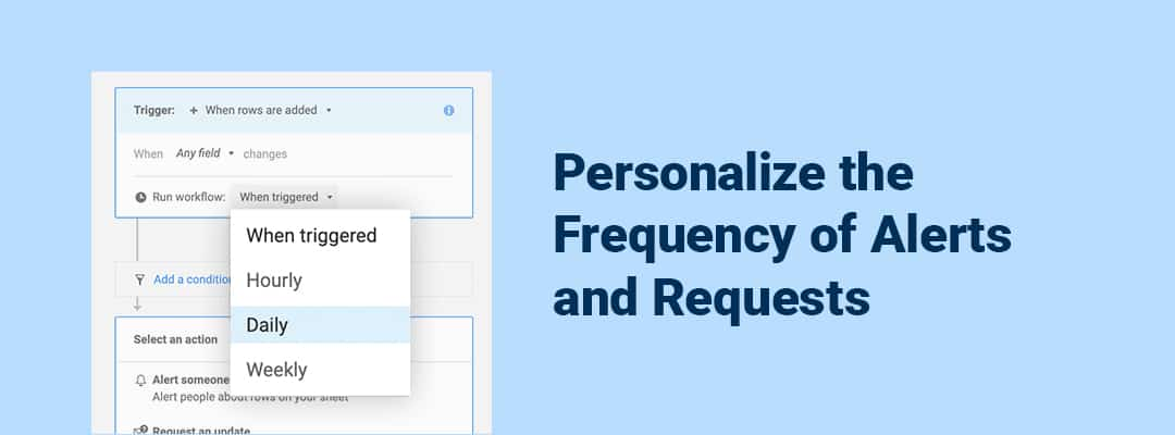 personalize notification frequency