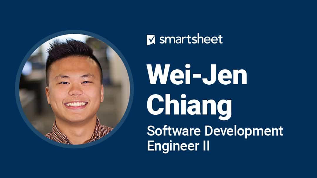 Employee spotlight Wei-Jen Chiang