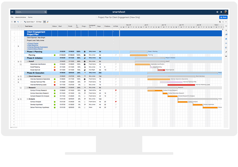 A Complete Guide To Project Management Tools Smartsheet