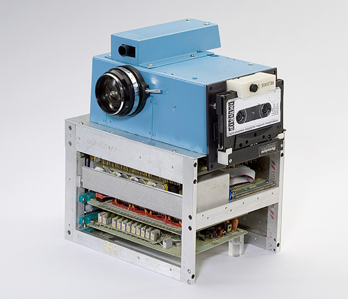 Photo of an old camera
