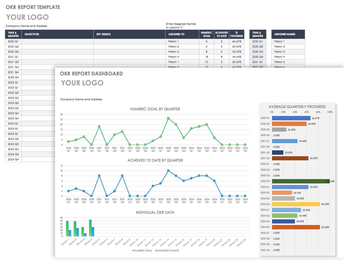 Download Free Okr Templates Smartsheet
