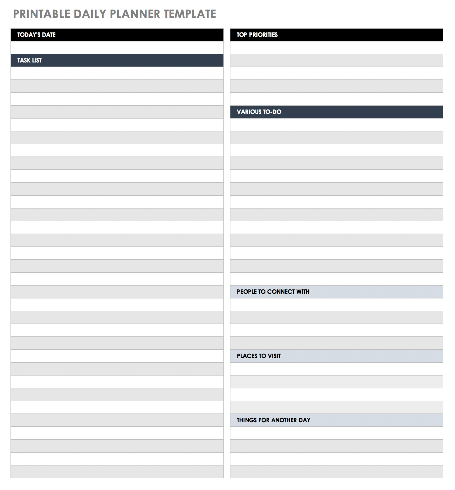 Room Assignment Template from www.smartsheet.com