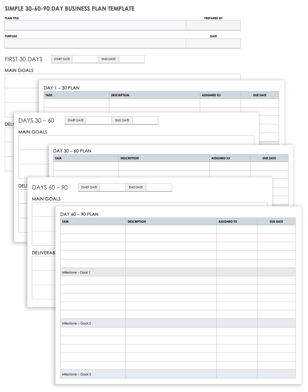 Free Business Plan Templates for Word | Smartsheet