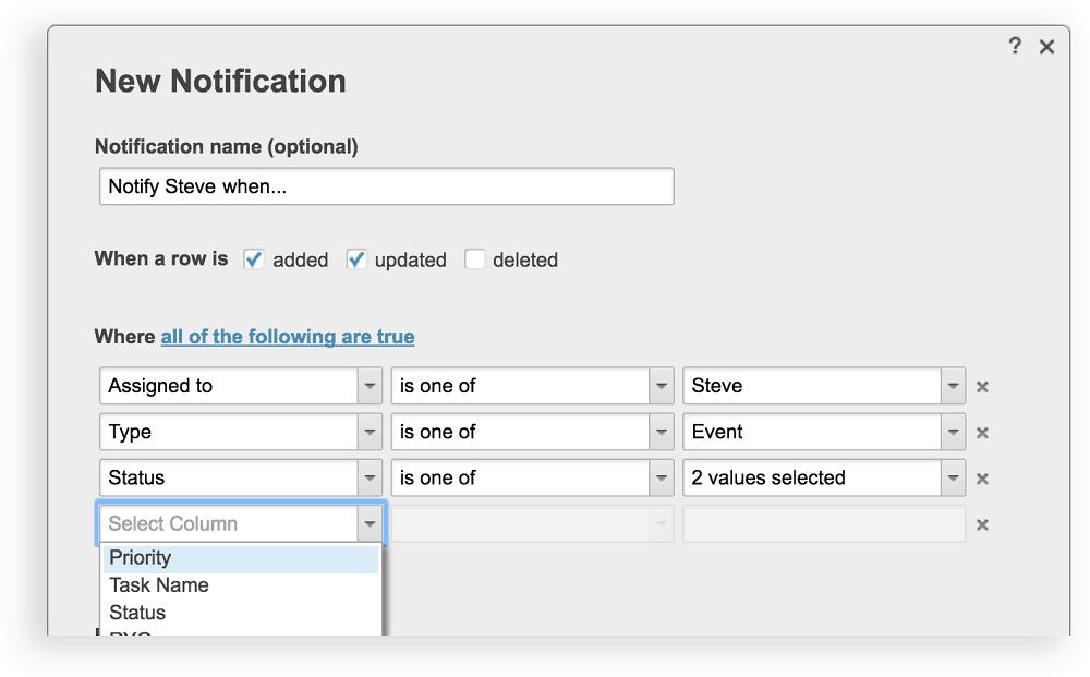 Get Specific With Smarter Notifications | Smartsheet