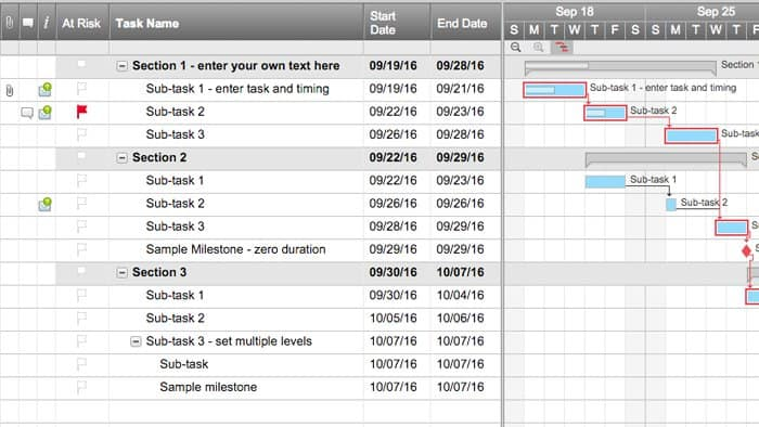 Basic Project With Gantt