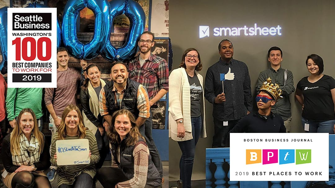 smartsheet best place to work