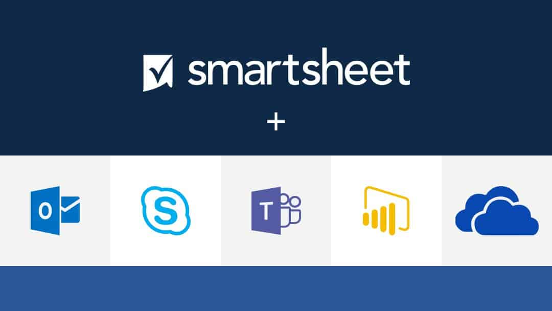 Microsoft integrations with Smartsheet