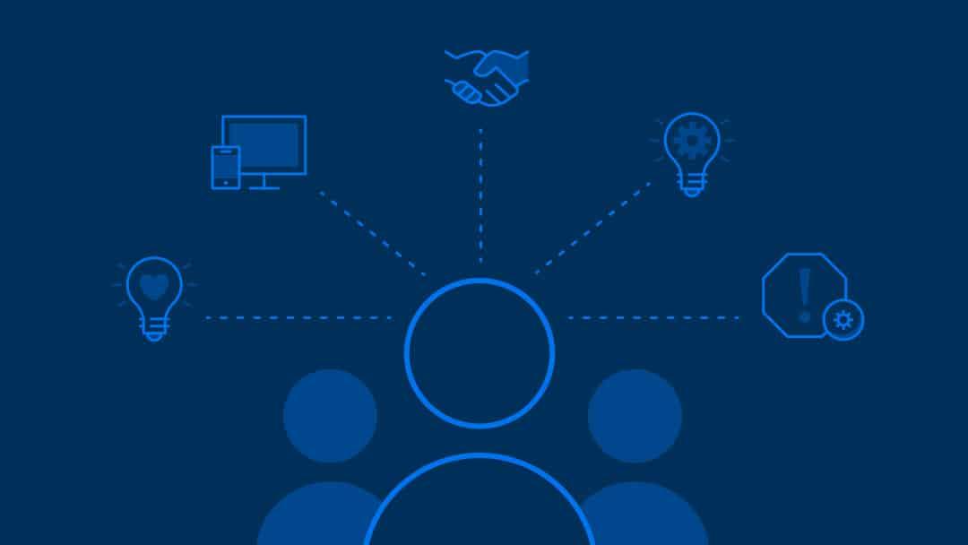 Graphic of competencies of digital leadership