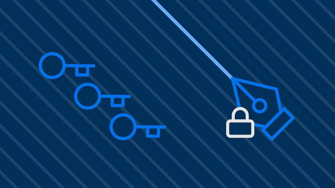 3 keys icon