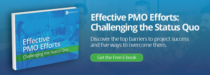 The complete guide to lean project management smartsheet effective pmo efforts ebook ad imageg fandeluxe Images