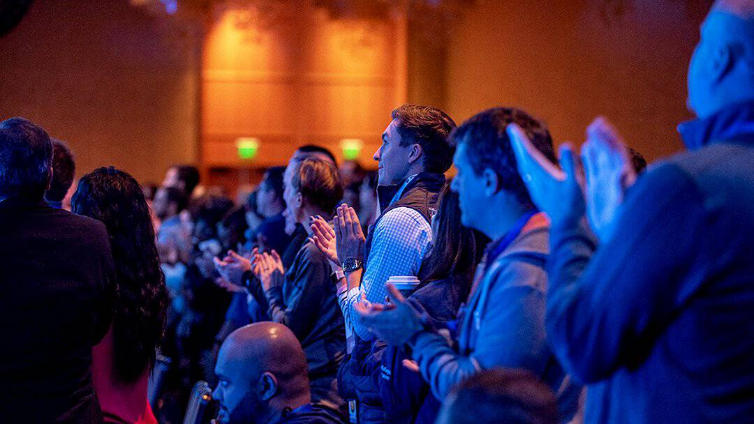 Standing ovation at ENGAGE'18