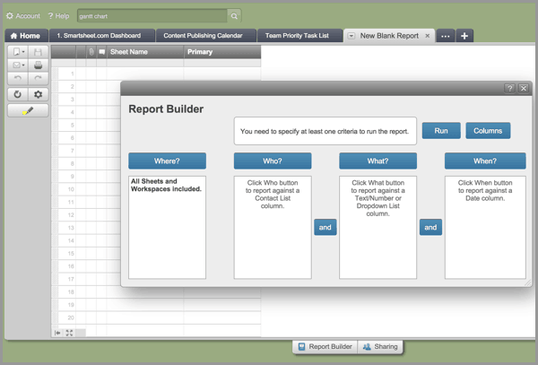 Generate Detailed Reports in Gantt Software