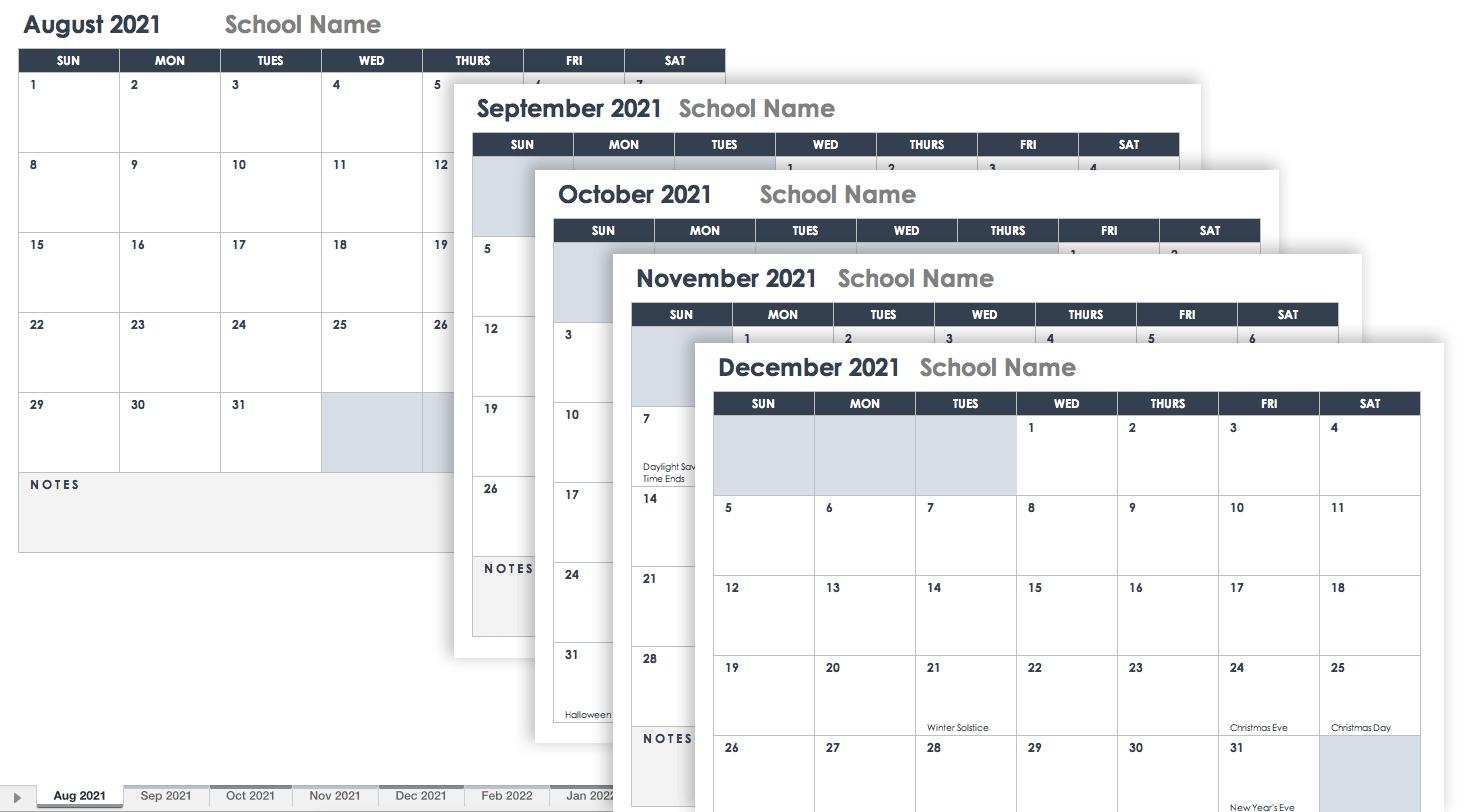 Ops Calendar 2022.Free Excel Calendar Templates