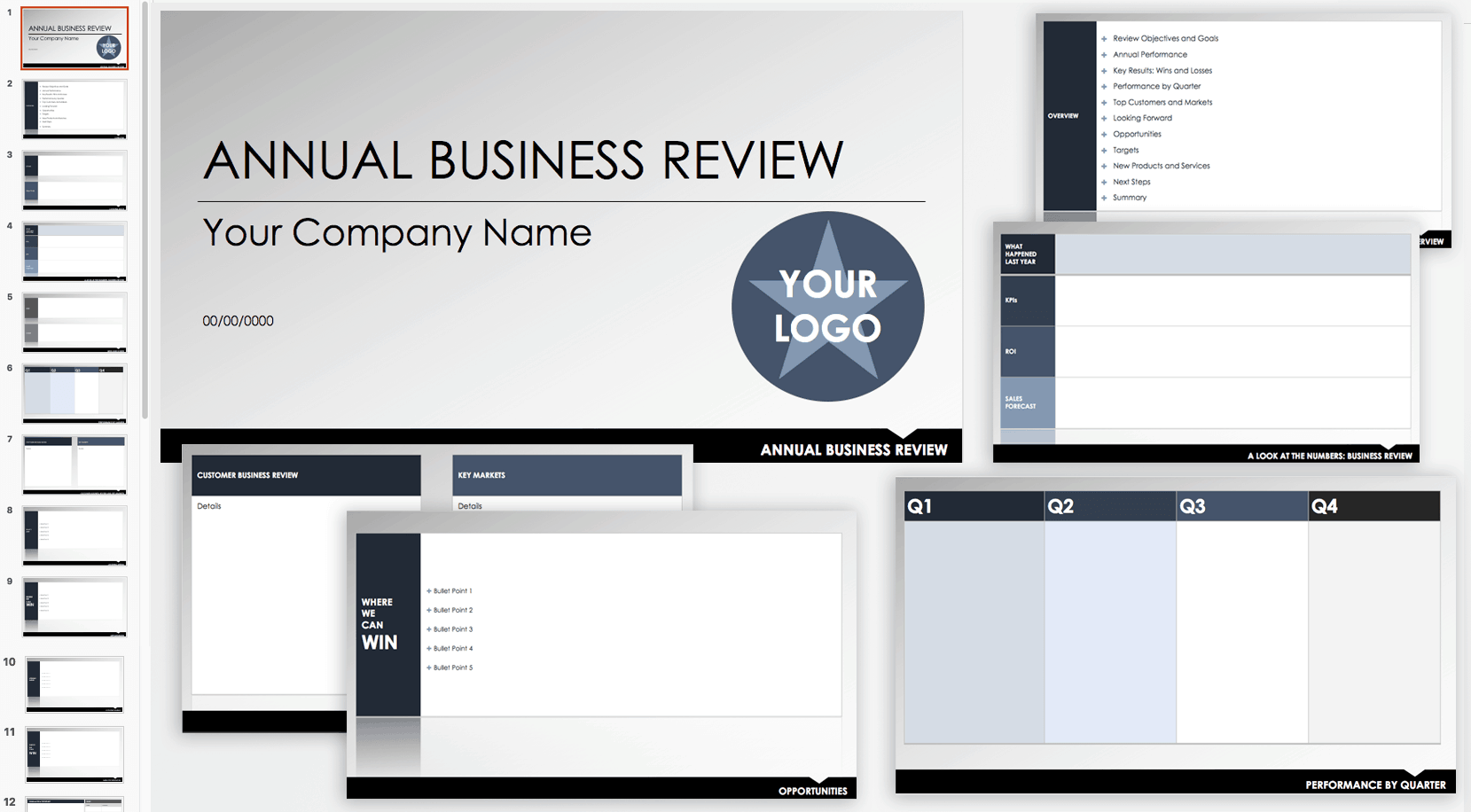 Free QBR and Business Review Templates | Smartsheet
