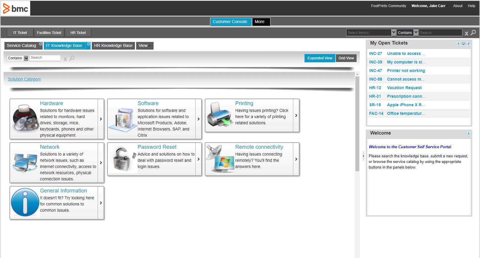 BMC Portal