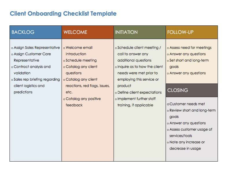 onboarding is not just for new employees it can also be used when taking on new clients teams can use onboarding to ensure that everyone is on the same