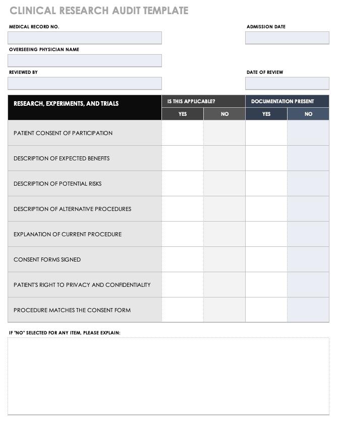 free medical form templates smartsheet. Black Bedroom Furniture Sets. Home Design Ideas