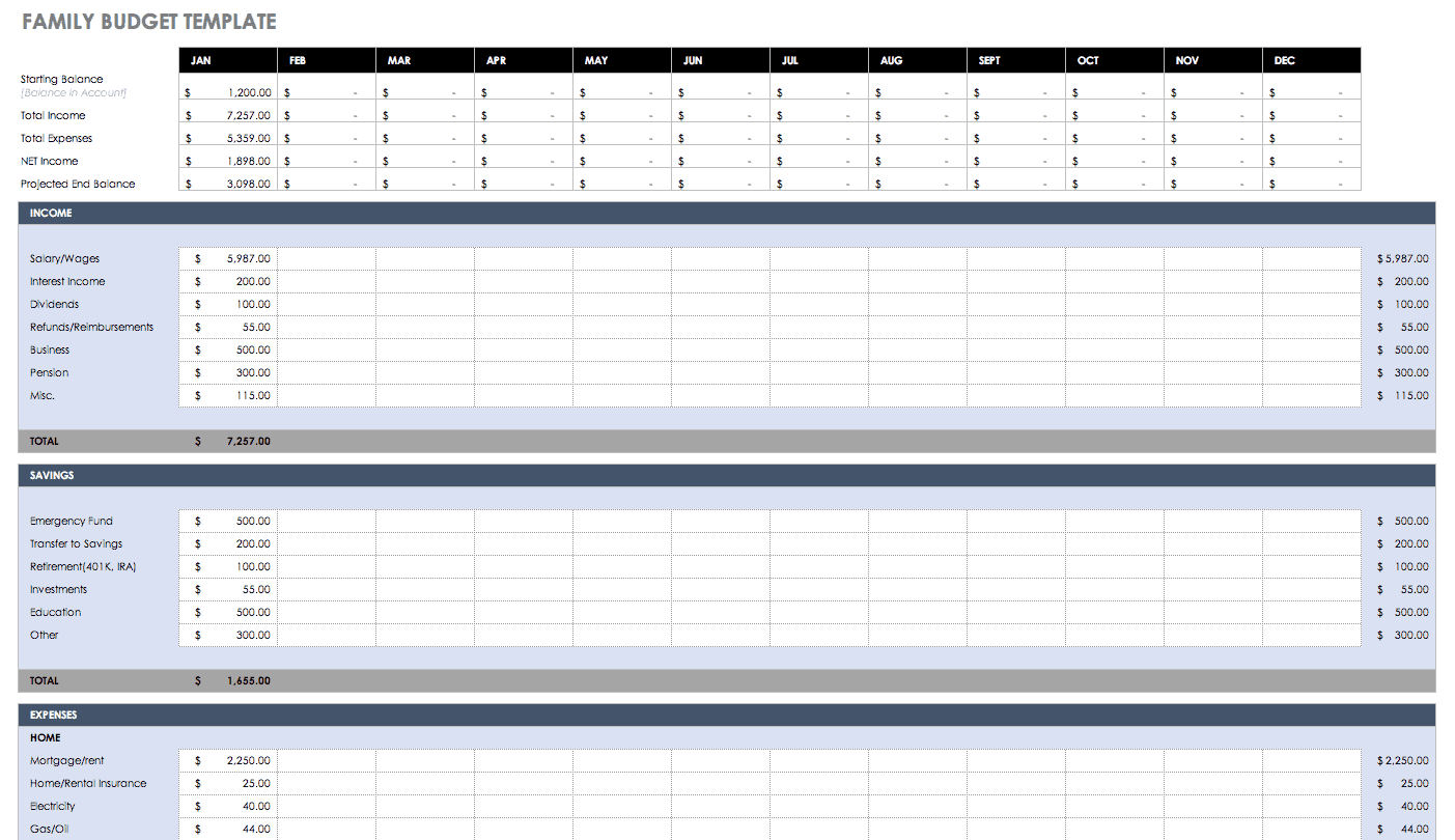 Excel Spreadsheet For Bills Template from www.smartsheet.com
