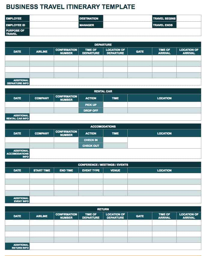 Free Google Docs And Spreadsheet Templates Smartsheet - Google sheets business templates