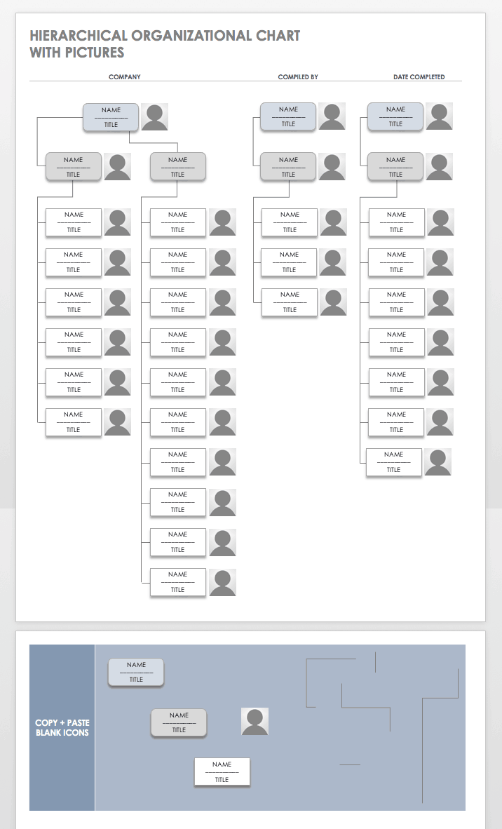 Free Organization Chart Templates for Word | Smartsheet