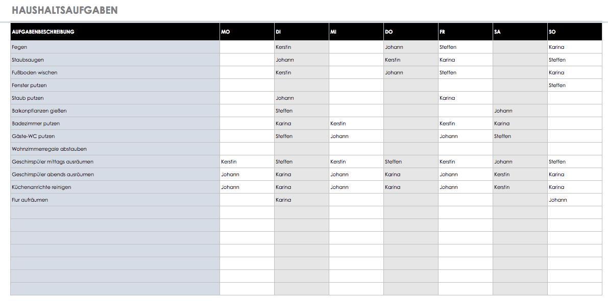 Kostenlose Vorlagen Aufgaben & Checklisten   Smartsheet