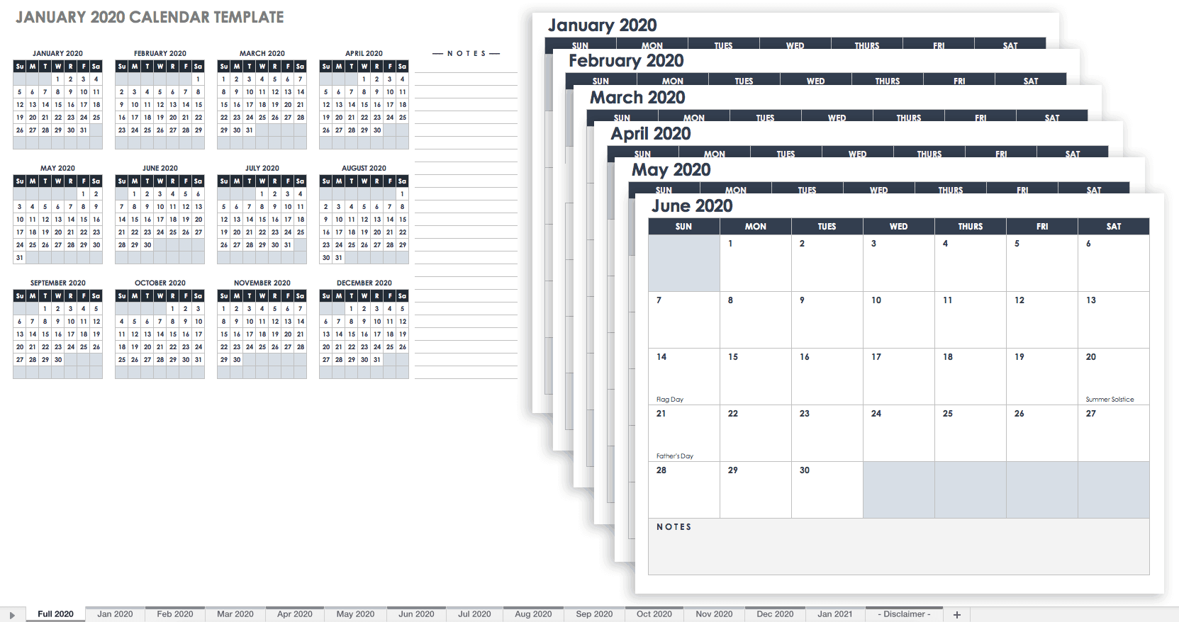 January 2020 Menu Calendars For Word 15 Free Monthly Calendar Templates | Smartsheet