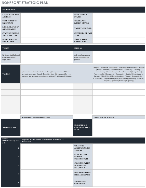 Police Operational Plan Template from www.smartsheet.com