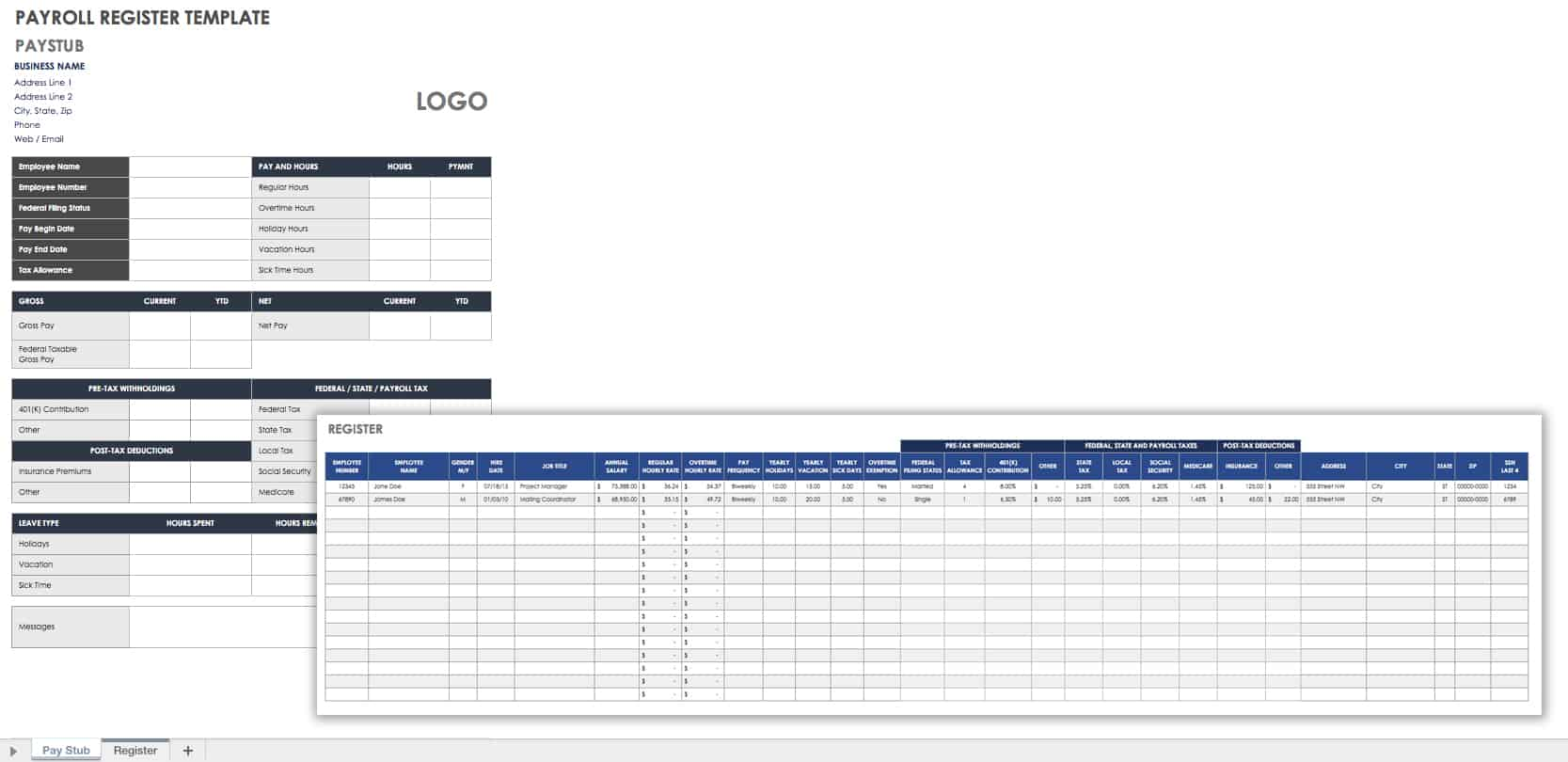 30 Free Timesheet and Time Card Templates   Smartsheet