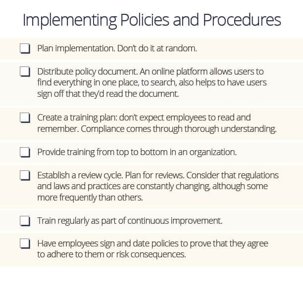 Policies And Procedures Template from www.smartsheet.com