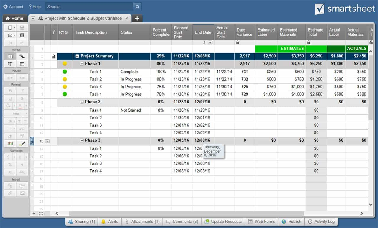 Champions Guide To Earned Value Smartsheet