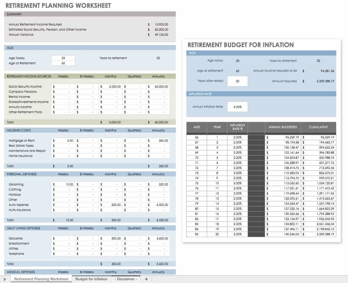 image regarding Free Printable Estate Planning Forms referred to as Totally free Economical Building Templates Smartsheet