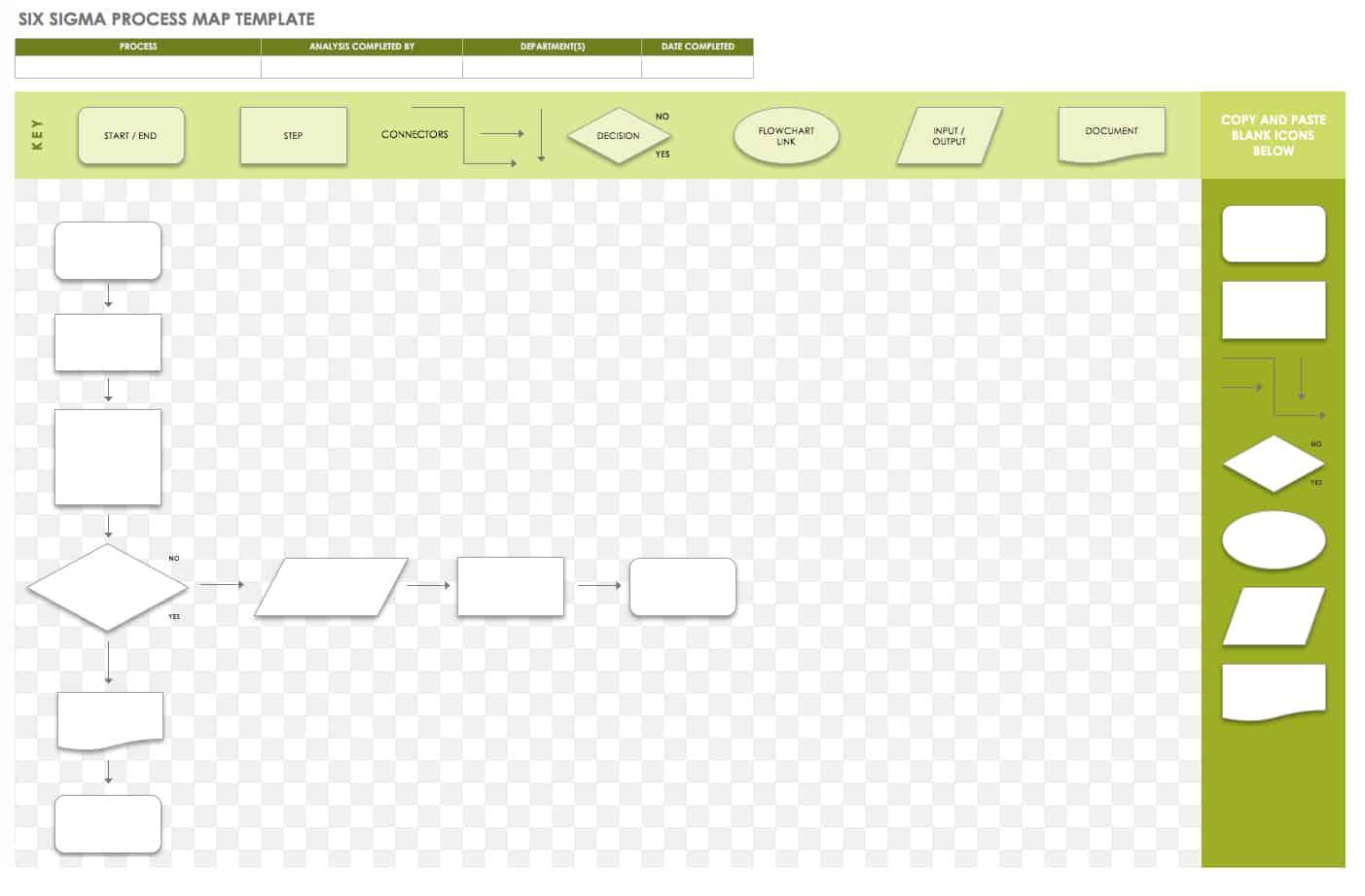 Free Process Mapping Templates Smartsheet