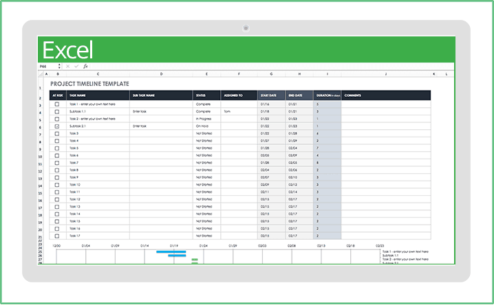 Excel Register Template from www.smartsheet.com