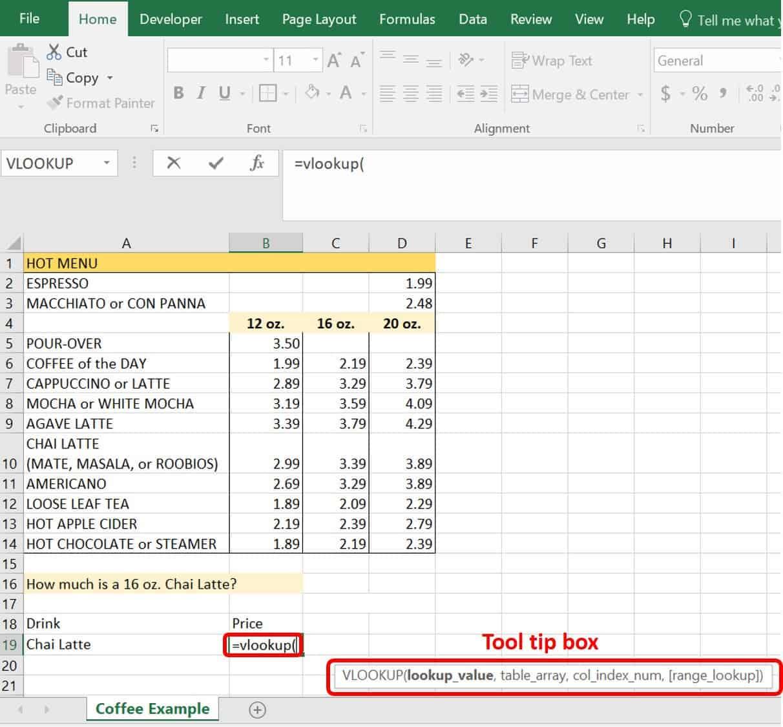 VLOOKUP Examples An Intermediate Guide   Smartsheet