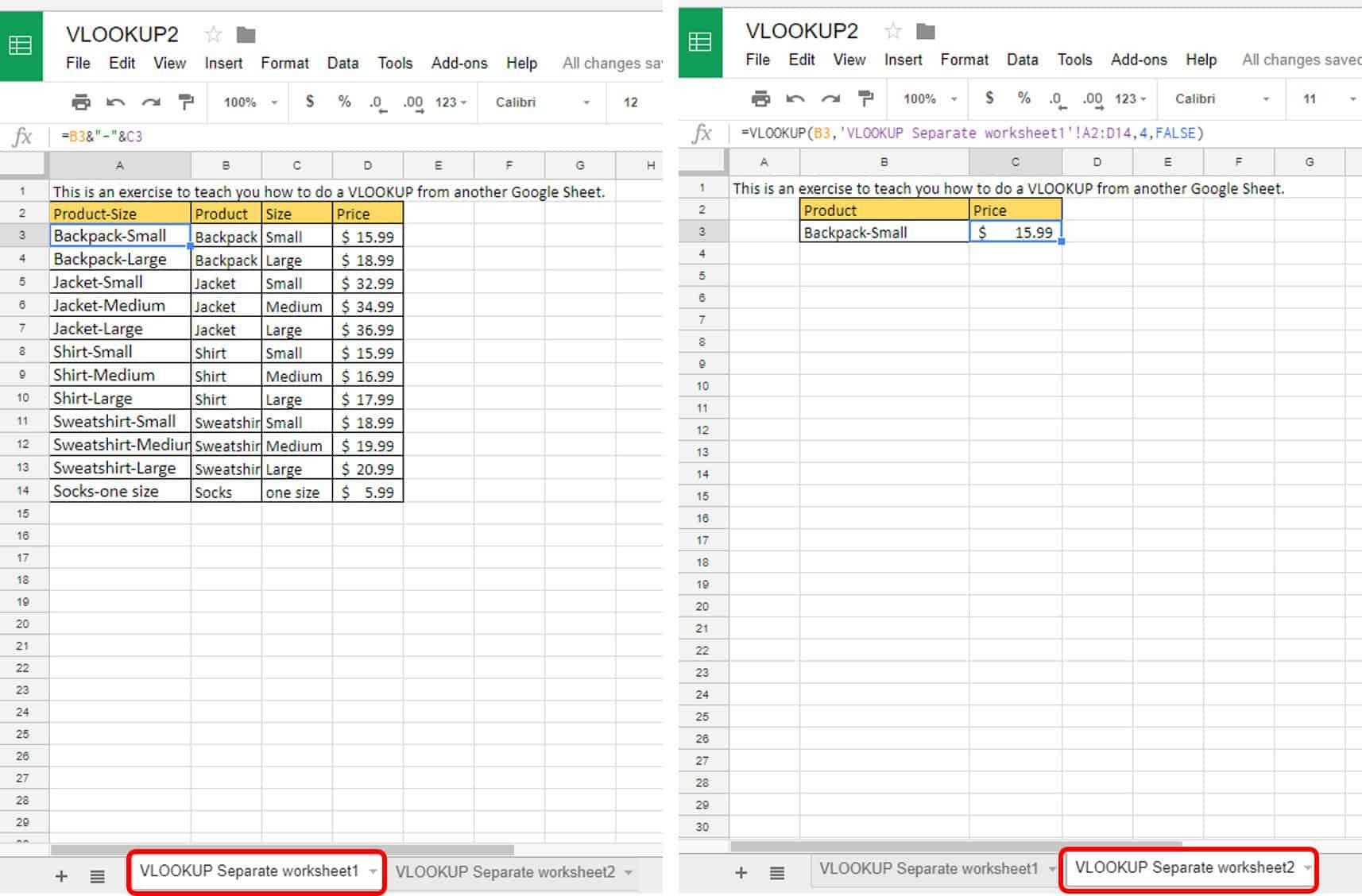 VLOOKUP Examples: An Intermediate Guide | Smartsheet