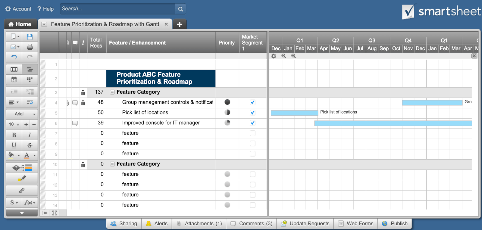 Free Product Management Templates Smartsheet - Free roadmap timeline template