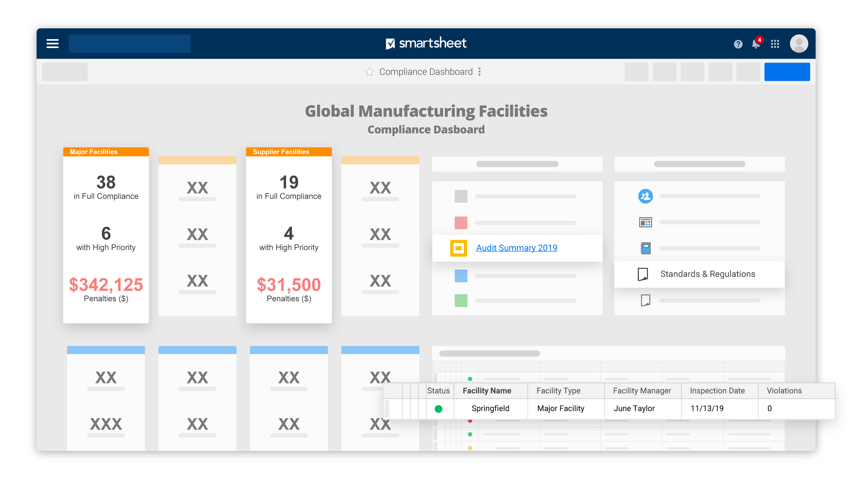 Improve Uptime and Accelerate Production | Smartsheet
