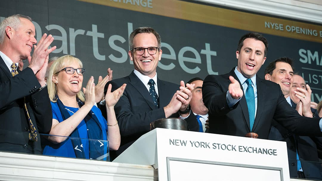 Smartsheet IPO at NYSE