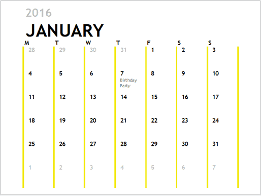make a 2018 calendar in excel includes free template