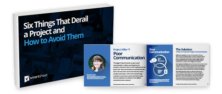 six things that derail a project and how to avoid them e book