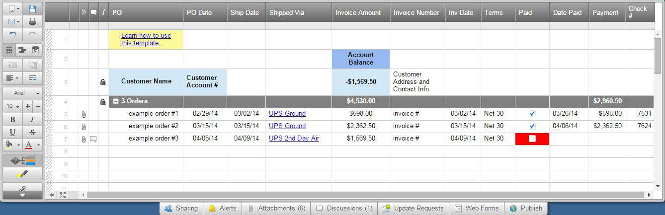 Free Excel Invoice Templates Smartsheet - Detailed invoice template