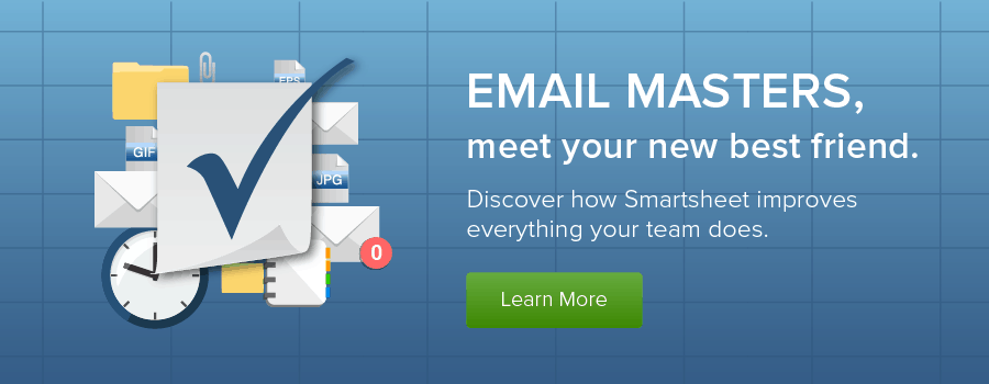 Master Email with Smartsheet