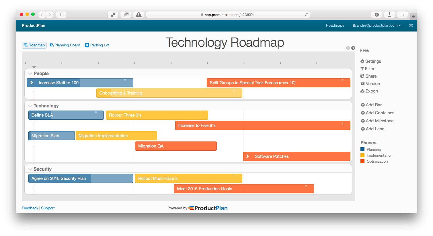 Gain a commanding grip on visual product roadmaps technology prmg cheaphphosting Choice Image