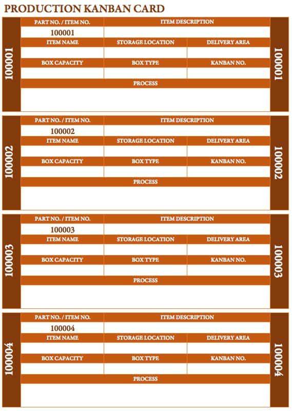 Free Kanban Card Templates - Smartsheet