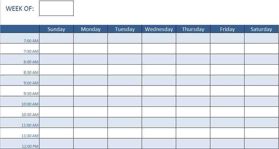 Creating A Work Schedule For Your Team Keeps Everyone On The Same Page It Will Allow You To Ensure That Have Coverage When Needed And Let